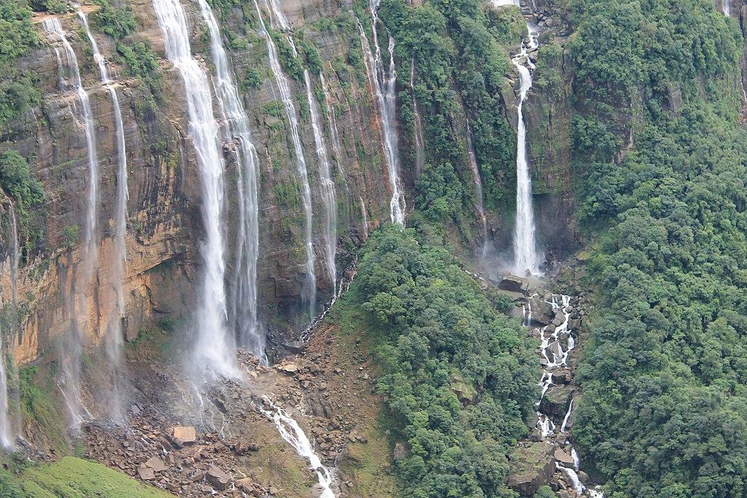 Cherrapunji in Meghalaya